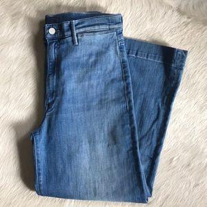 MOTHER Jeans - MOTHER SWONNER ROLLER CROP JEANS